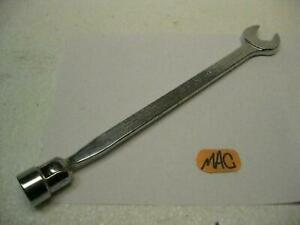 Mac Tools 3 4 Flex head 6 Point Socket End Combination Wrench Clf24 Usa New