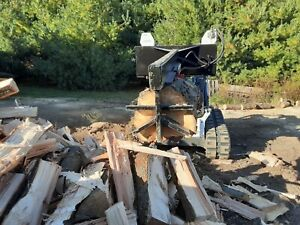 Ramsplitter 6 Way Wedge Skid Steer Log Splitter 24 Log And 30 Tons Of Power