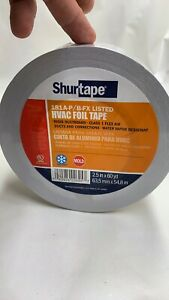 2 Rolls Shurtape Af 099 Aluminum Hvac Foil Tape 2 5 X 60 Yd Flex Air Duct New