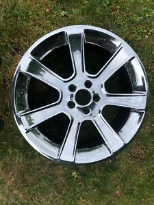 Saleen 20 X 9 Chrome Polished Wheel 2005 Front S281 Mustang