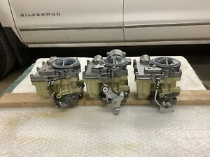 Chevrolet 1958 1961 348 Tripower Carbs