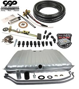 1964 67 Chevy Chevelle Ls Efi Fuel Injection Gas Tank Fi Conversion Kit 90 Ohm