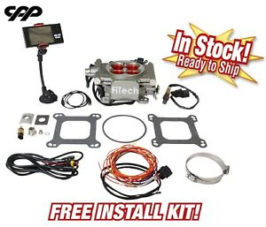 Fitech Fuel Injection 30003 Go Street 400 Hp Efi Conversion free Install Kit