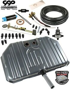 1968 69 Chevy Chevelle Ls Efi Fuel Injection Notched Gas Tank Conversion Kit 340
