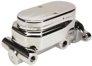 New Cpp Premium Chrome Finish Smooth Lid 1 Bore Master Cylinder Street Rod Hot