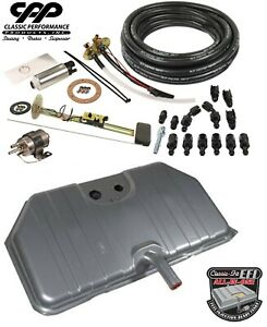 1969 Chevy Camaro Ls Efi Narrow Fuel Injection Gas Tank Fi Conversion Kit 90ohm