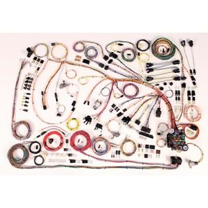 1966 68 Chevy Impala Classic Update American Autowire Wiring Harness Kit 510372