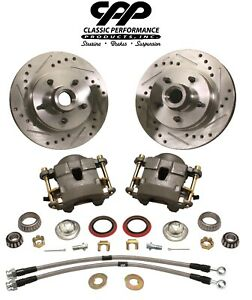 1960 72 Chevy C10 Gmc Truck Deluxe Front Disc Brake Wheel Component Kit 5 Lug