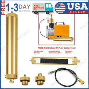 30mpa 4500psi Pcp Compressor Oil Water Separator High Pressure Air Pump Filter