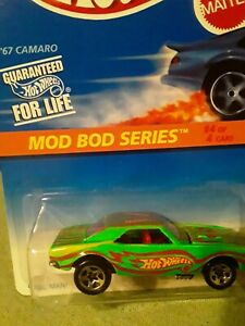 Hot Wheels 67 Camaro 1of 1 Factory Variation Extra Yellow Stripe