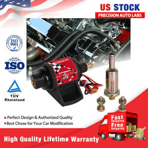42s Universal Electric Fuel Pump 28 Gph 2 3 5 Psi Low Flow Pressure For Gasolin