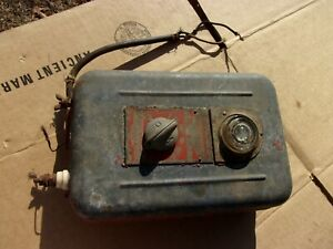 Vtg Antique Parmak Precision 6 V Electric Fence Cattle Livestock Fencer Farm 0ld
