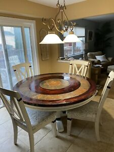 Kitchen Dining Set With Four Chairs