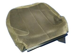 Taupe 2002 2005 Dodge Ram Driver Seat Backrest Back Rest Cover Cloth Upholstery
