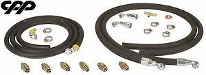 Steering Hose Hookup Kit With Fittings For Hydroboost Power Brake Booster Kit