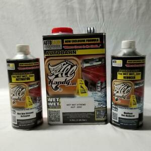 Akp 9090 Wet Wet Xtreme All Kandy S High Solid Clear Coat Gallon Kit