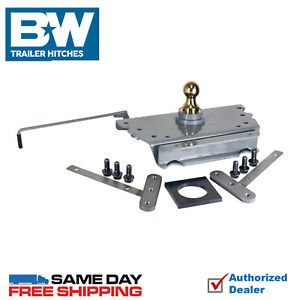 B W Turnover Ball Gooseneck Hitch 7500 Gtw 2019 2020 Ram 2500 3500 Direct Fit