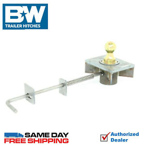 B w Turnover Ball Gooseneck Hitch 7500 Gtw Flat Bed Kit