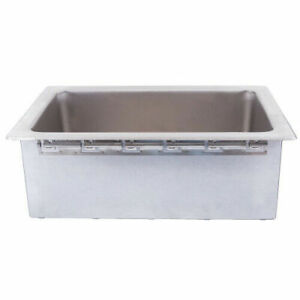 Apw Wyott Cfw 1d Ice cooled Drop in Cold Food Well With Drain