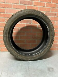 Single Continental Extreme Contact 225 40 Zr 18 Extra Load Tire