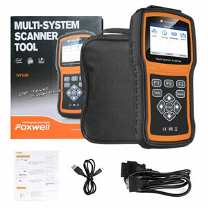 Foxwell Nt530 Bmw Scanner Full System Diagnostic Tool Srs Abs Epb Oil Reset Sas
