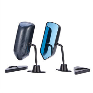 2x Universal Car Side View Mirrors For Suv Car Truck Van Traffic Safety Us Stock