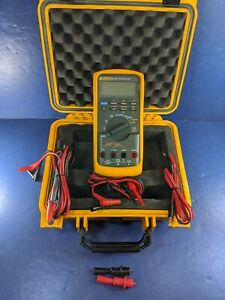 Fluke 787 Processmeter Screen Protector Excellent Condition Case See Details