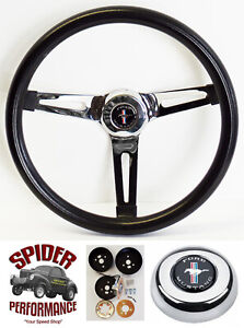 1965 1969 Mustang Steering Wheel Pony 13 1 2 Muscle Car