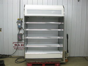 Barker 55 Open Air Refrigerated Multi Deck Grocery Dairy Display Case Cooler