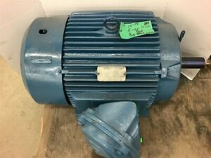 Reliance Electric 50 Hp Ac Motor 460v 60hz Cont Duty 1770 Rpm