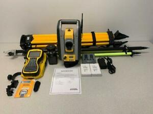 Trimble Sps620 Robotic Total Station Pkg With Tsc3 Scs900 Pre owned