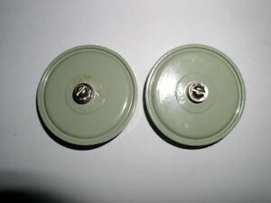 Doorknob Capacitor K15y 1 1000pf 4kv with Screw Lot Of 2pcs