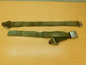 Single Lap Seat Belt Taken From A 1963 Dodge 63dp1 1e1
