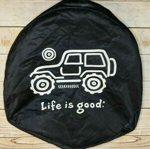 Life Is Good Jeep Wrangler 33 Wheel Tire Cover