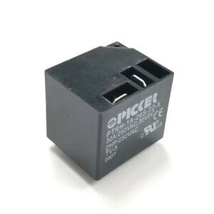 Picker Ptrh 1a 24s t2 x 24 Volt Dc Coil Spst no Normally Open Pc Mount Relay 30a