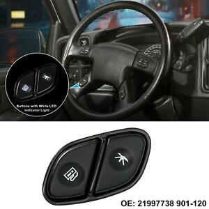 Steering Wheel Switch Control Button Fuel Trip Information For Cadillac Escalade