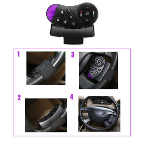 Universal Wireless Car Steering Wheel Button Remote Control Radio For Gps New
