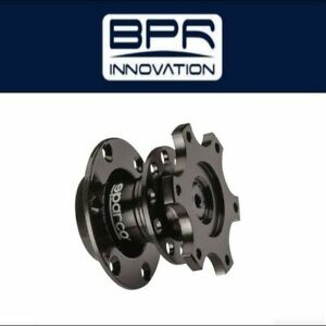 Sparco Wheel Quick Release Tuning Blk 015r98tu