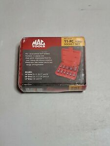 Mac Tools Smxve11b 11pc External Torx Socket Set