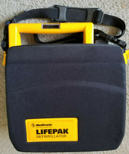 Medtronic Physio control 3011790 000113 Lifepak 500 Aed And Carrying Case