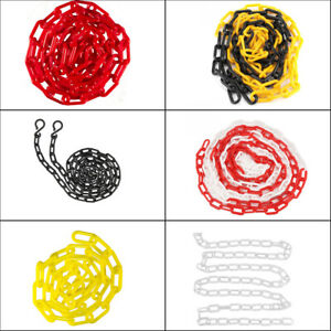 125 Ft Crowd Control Plastic Chain Utility Safety Barrier Indoor Outdoor New