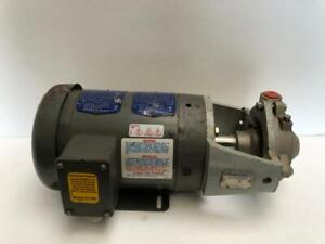 Omnipure Overboard Stainless Steel Centrifugal Pump 1 Hp 60hz 3 Ph