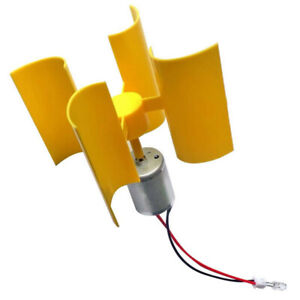 Mini Power Generator Wind Powered Vertical 5v 100ma