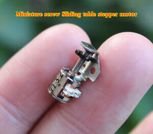 5pcs 6mm Small Type Sliding Table Stepper Motor 2 phase 4 wire Stepper Motor