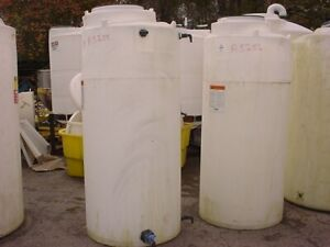 300 Gallon Poly Storage Tank Flat Bottom Closed Top 1 9 Specific Gravity Snyder