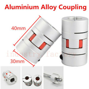 14 X 12mm Jaw Flexible Shaft Coupling Spider Plum Coupler D30l40 Joint For Motor
