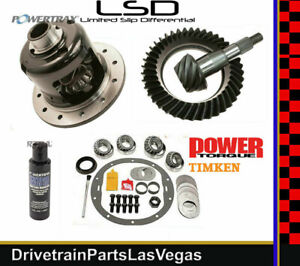 Powertrax Posi Pkg Gm Chevy 8 6 4 10 Ring Pinion Gear Set Timken Master 99 To 08