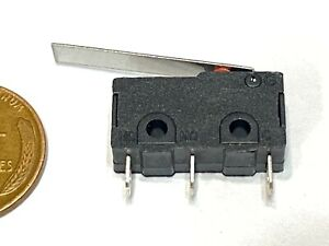 Kw12 c Kw12 Long Arm Lever Limit Switches Straight Hinge Type Spdt Micro C23