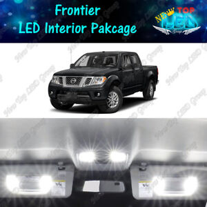 White Led Lights Interior Package Kit For 2005 2018 2019 2020 Nissan Frontier