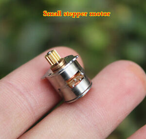 5pcs 10mm Small Stepping Motor Micro Two phase Four wire Stepping Motor